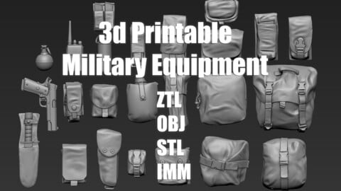 3d Printable Military Equipment
