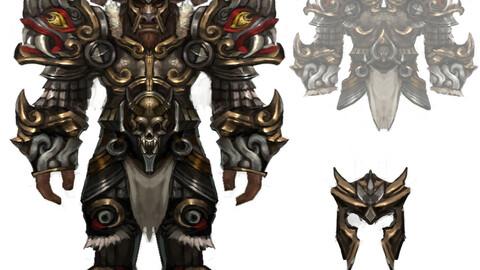 Heavy Armor Set - Cowman 12