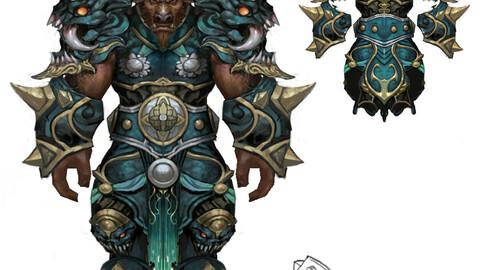 Heavy Armor Set - Cowman 13