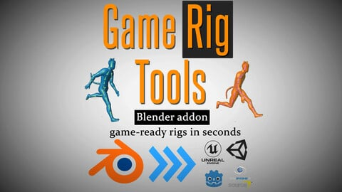 Game Rig Tools (Blender Addon) - game-ready rigs in seconds