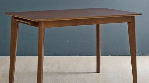 Rubber Brahms dining table table one piece of article