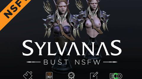 Sylvanas Windrunner Bust +NSFW 3D print model