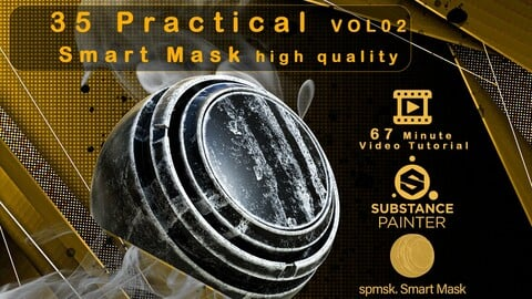 35 Practical and useful smart mask high quality + Video Tutorial - VOL 02