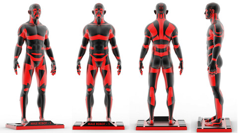Male Robot 1 - MR01