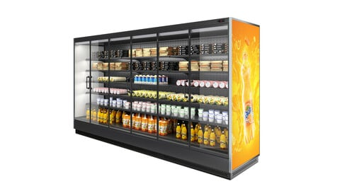 Vertical Refrigerated Display Case