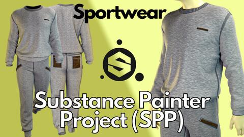 Substance Painter (.SPP) : Men's sportswear