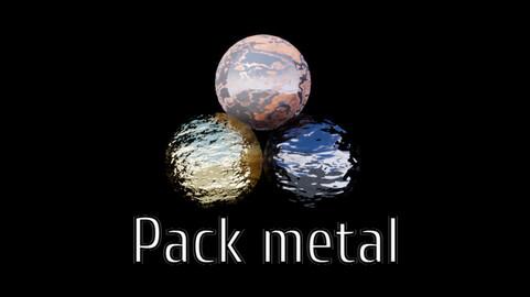 UE 4 Material Pack Métals