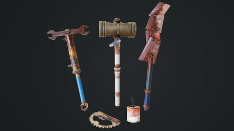 Post Apocalyptic Weapon Pack