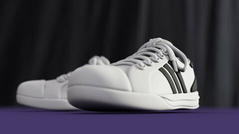Stylized Superstar Sneakers