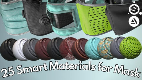 25 Smart material for face mask
