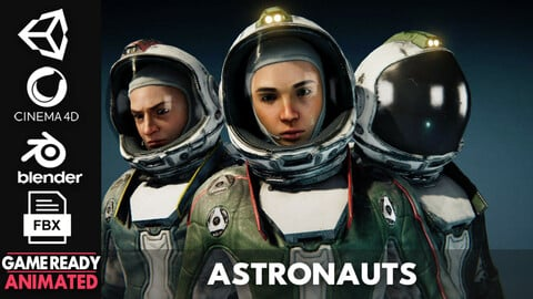 Astronauts - Game Ready