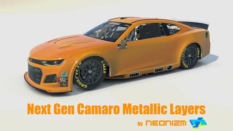 Neonizm Texture Tool Kit - iRacing NASCAR Next Gen Chevy Camaro