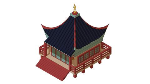 Japan House Isometric