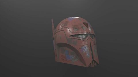 Stalkers Helmet - Mandalorian Free low-poly 3D model
