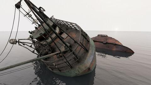 Fishing Trawler wreck