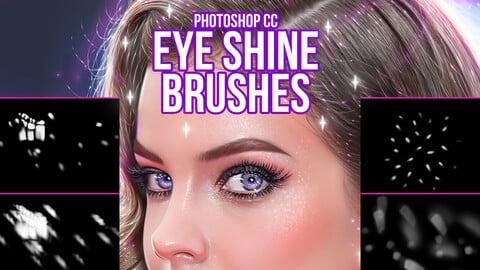 Eye Shine Brushes for Photoshop