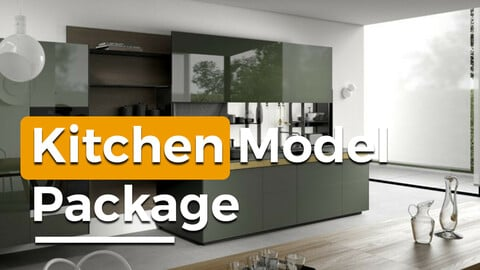 Kitchen Model Pack