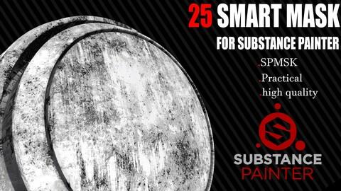 25 SMART MASK FOR SUBSTANCE PAINTER