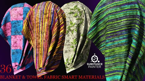 36 Reality towel and blanket fabric smart materials-maral samaeily