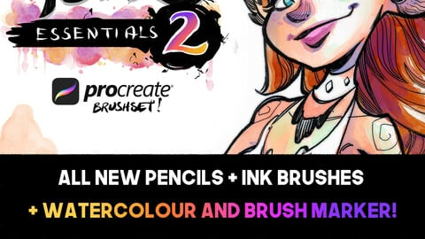 Abel Essentials 2 - Procreate Brushes