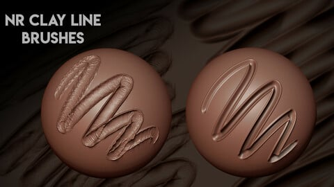 NR Clay Lines Brushes
