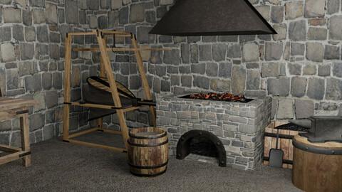 Blacksmith Tools and Equipment