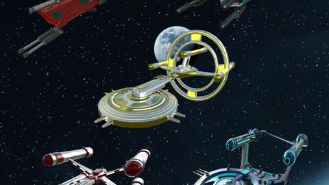 Spaceship Bundle pack 1