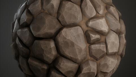 Stylized Rocks Material