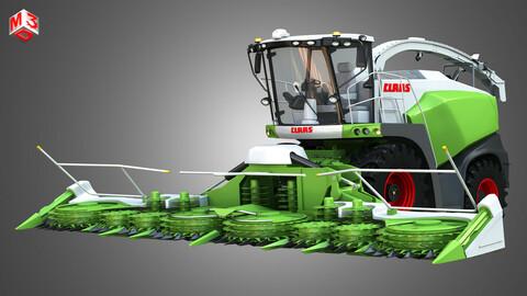 Claas Jaguar Harvester - with Front Harvester