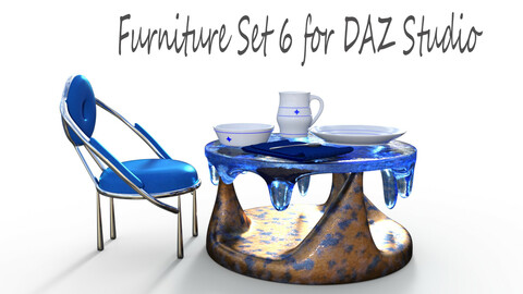 Furniture Set 6 for DAZ Studio