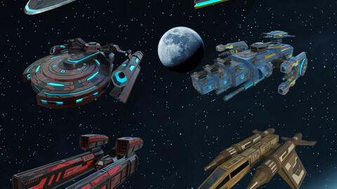 Spaceship Bundle Pack 5