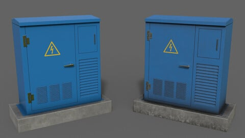 PBR Electric Box Blue