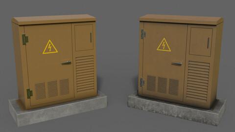 PBR Electric Box Brown