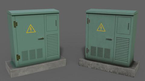 PBR Electric Box GreenLight