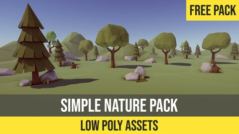 Low-Poly Simple Nature Pack for Unity