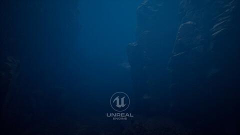 Unreal 5 Project Underwater Light Setup