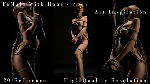 Female With Rope Art Inspiration Part 3