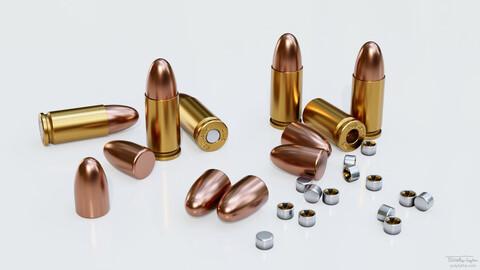 Pistol Cartridges 001