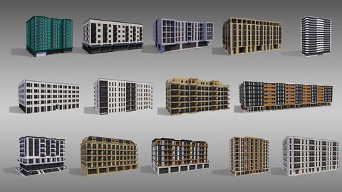 Apartment Buildings Kit