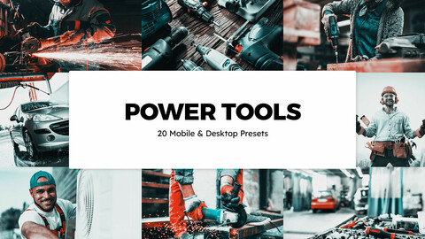 20 Power Tools LUTs and Lightroom Presets