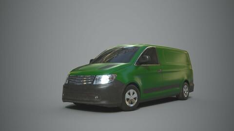 Generic Minivan Green