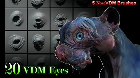 VDM Brushes - Eyes 3D model