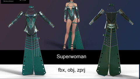 Superwoman for games