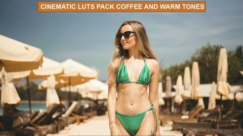CINEMATIC Film LUTS for Videos and Photos / Adobe Premiere Pro / After Effects / Sony Vegas / Final Cut / Photoshop