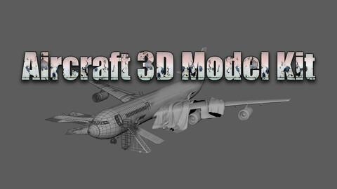 Aircraft 3D Model Kit
