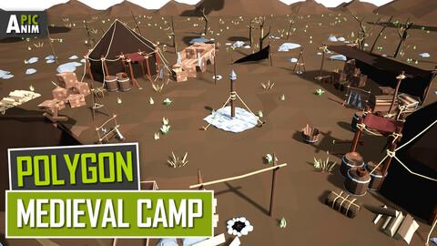 Polygon - Medieval Camp (Unity, UE4)