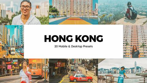 20 Hong Kong LUTs and Lightroom Presets