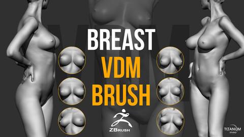 30 Breast & nipple VDM brushes series 01