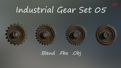 Industrial Gear Set 05