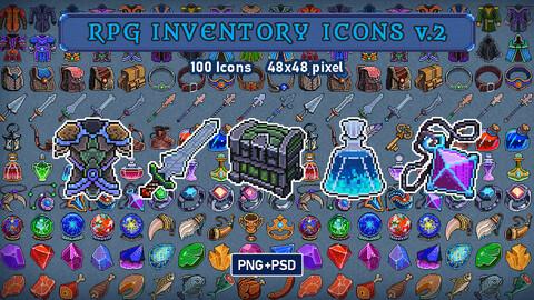 RPG Inventory Icons v.2